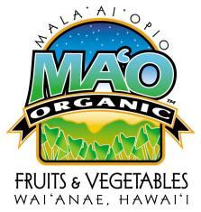 Ma'o Organic Farm Logo